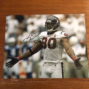 Other - Mario Williams Houston Texans 8x10 Photo Autograph